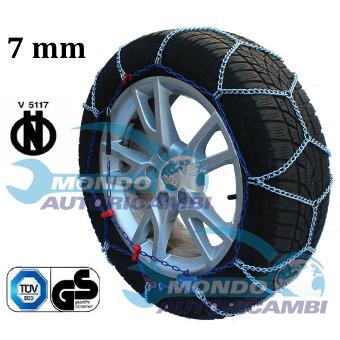 01//2014-/> CATENE DA NEVE 9MM 225//45 R18 FIAT 500X